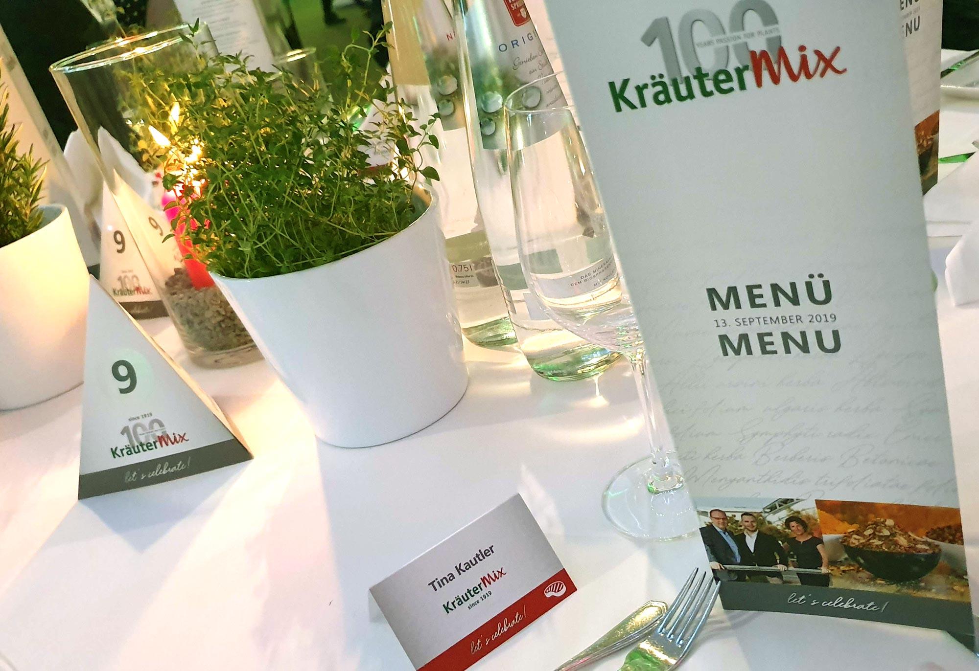 Jubiläumsevent Kräuter Mix
