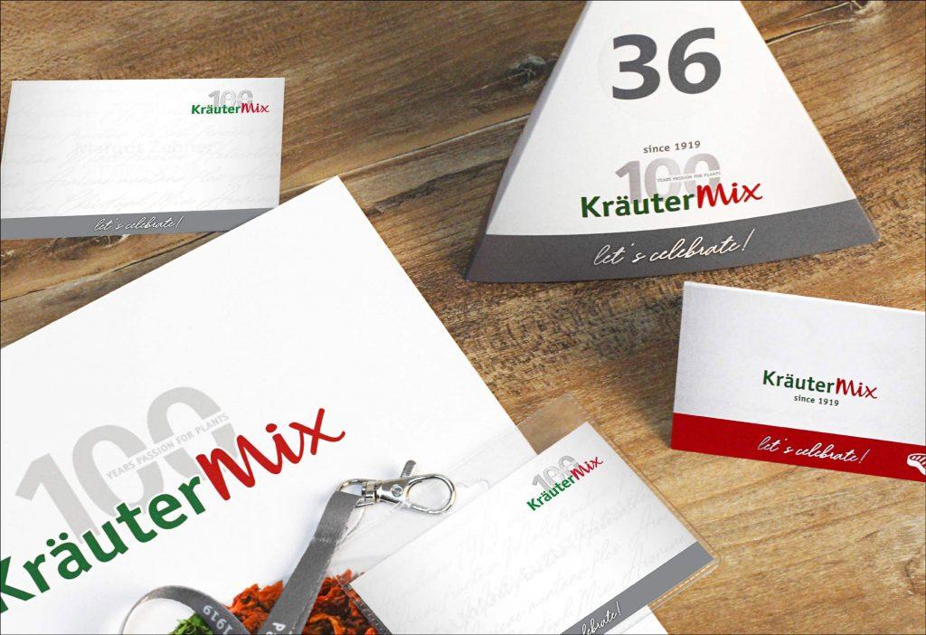 100 Jahre Kräuter Mix Jubiläumsevent