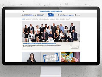 Kanzlei Hilpert AG Webdesign