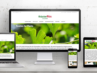 Website Kräuter Mix
