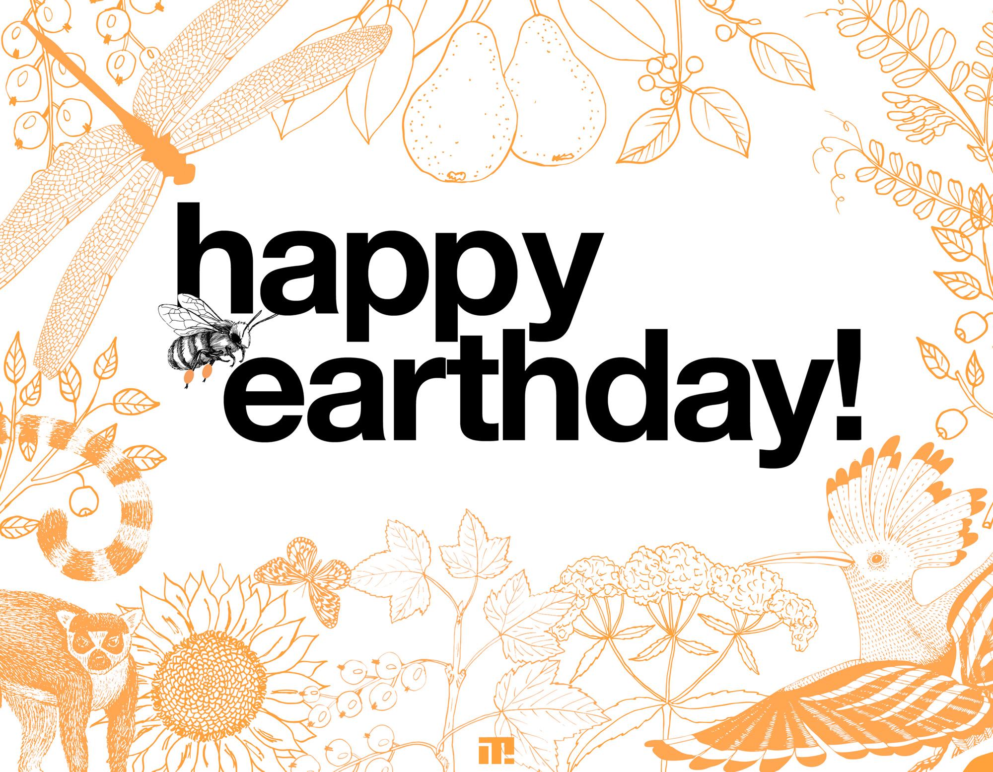tellit_happy earthday
