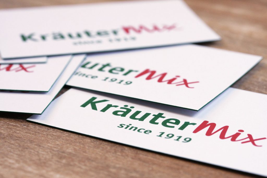 Corporate Design Kräuter Mix