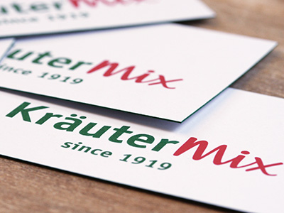 Kräuter Mix Corporate Design