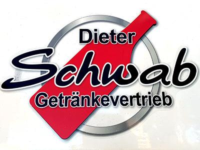 LKW-Design für Getränke Schwab